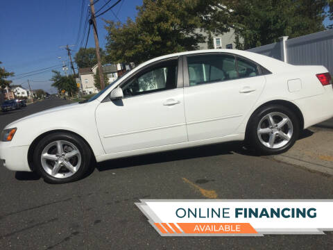 2007 Hyundai Sonata for sale at New Jersey Auto Wholesale Outlet in Union Beach NJ