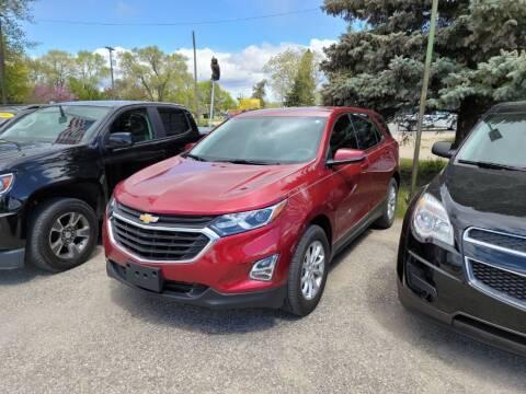 2018 Chevrolet Equinox for sale at Clare Auto Sales, Inc. in Clare MI