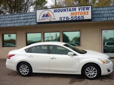 2013 Nissan Altima for sale at Mountain View Motors Inc in Colorado Springs CO
