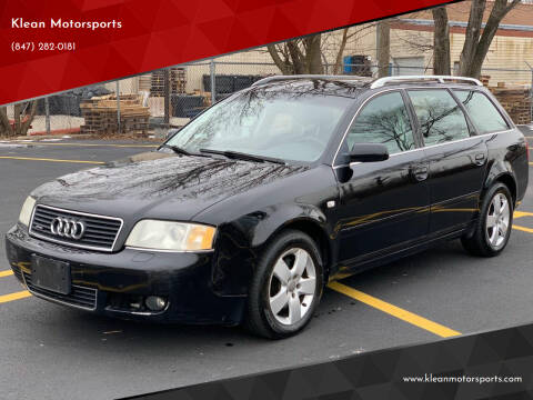 2003 Audi A6 for sale at Klean Motorsports in Skokie IL