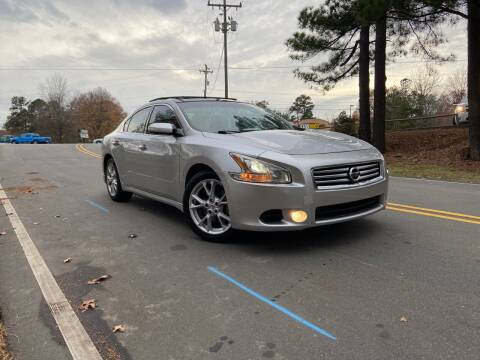 2014 Nissan Maxima for sale at THE AUTO FINDERS in Durham NC