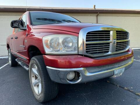 2007 Dodge Ram Pickup 1500 for sale at P.G.P. Exotic Auto Sales Inc. in Owensboro KY