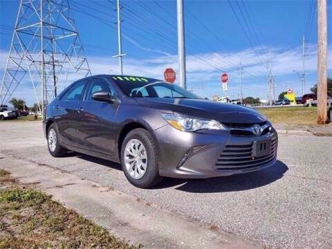 2017 Toyota Camry for sale at SUPER DEAL MOTORS in Hollywood FL