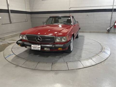 1987 Mercedes-Benz 560-Class for sale at Luxury Car Outlet in West Chicago IL