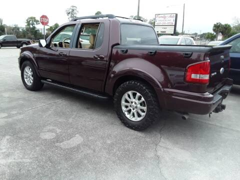 2007 Ford Explorer Sport Trac for sale at FAMILY AUTO BROKERS in Longwood FL