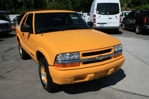 2003 Chevrolet Blazer for sale at Mike's Trucks & Cars in Port Orange FL