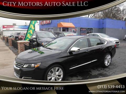 2016 Chevrolet Impala for sale at City Motors Auto Sale LLC in Redford MI