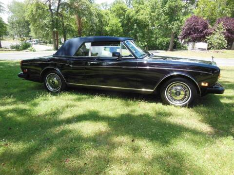 1990 Rolls-Royce Corniche for sale at PALMA CLASSIC CARS, LLC. in Audubon NJ
