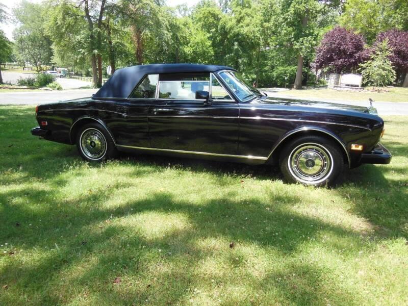 1990 Rolls-Royce Corniche for sale at PALMA CLASSIC CARS, LLC. in Audubon NJ