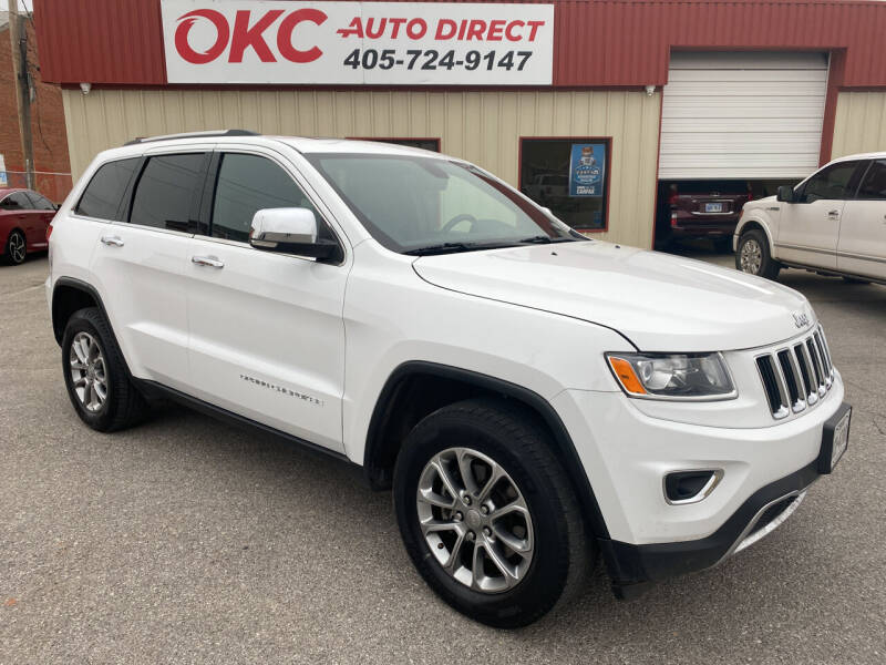 2015 Jeep Grand Cherokee for sale at OKC Auto Direct in Oklahoma City OK