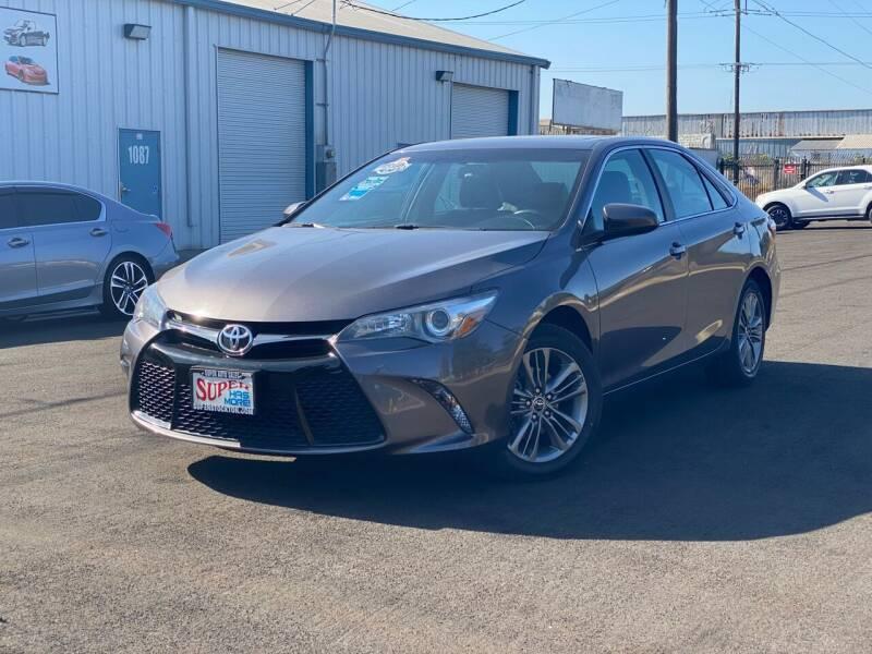 2016 Toyota Camry for sale at SUPER AUTO SALES STOCKTON in Stockton CA