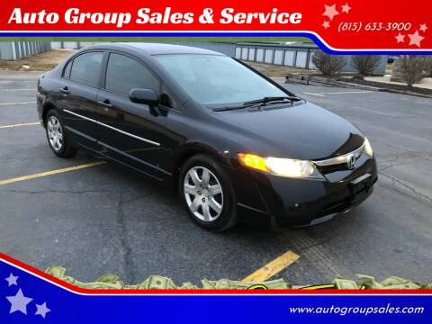 2008 Honda Civic for sale at Auto Group Sales in Roscoe IL