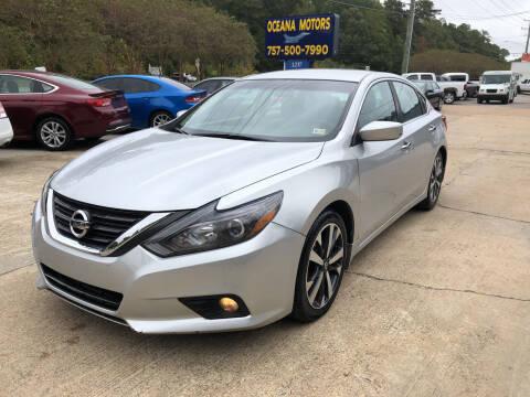 2016 Nissan Altima for sale at Oceana Motors in Virginia Beach VA