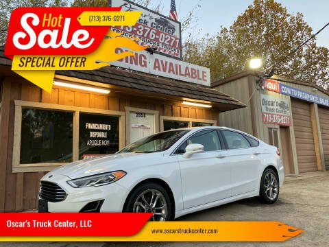 2019 Ford Fusion for sale at Oscar's Truck Center, LLC in Houston TX