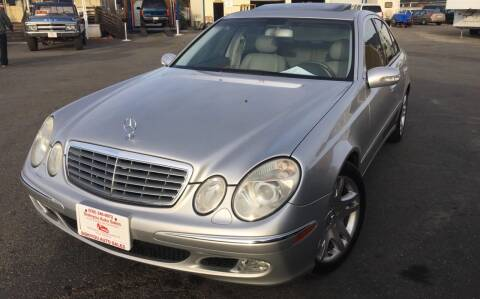 2003 Mercedes-Benz E-Class for sale at Siskiyou Auto Sales in Yreka CA