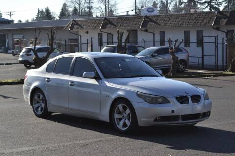 2006 BMW 5 Series for sale at Skyline Motors Auto Sales in Tacoma WA