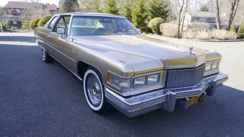 1975 Cadillac DeVille for sale at Fiore Motors, Inc.  dba Fiore Motor Classics in Old Bethpage NY