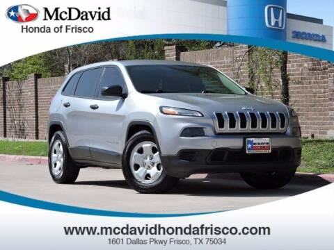 2014 Jeep Cherokee for sale at DAVID McDAVID HONDA OF IRVING in Irving TX