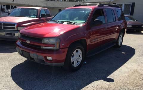 2003 Chevrolet TrailBlazer for sale at Mama's Motors in Greer SC