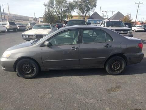 2008 Toyota Corolla for sale at Creekside Auto Sales in Pocatello ID