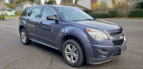 2013 Chevrolet Equinox for sale at Seattle Motorsports in Shoreline WA
