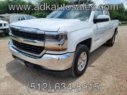 2018 Chevrolet Silverado 1500 for sale at ADK AUTO SALES LLC in Austin TX