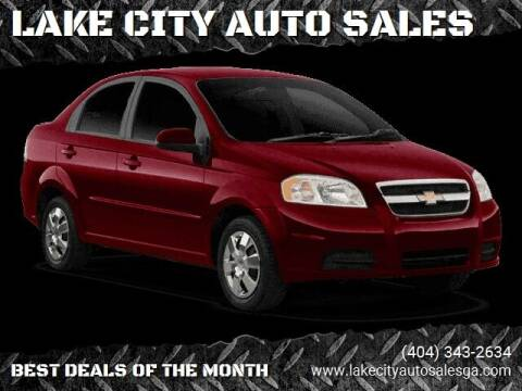 2011 Chevrolet Aveo for sale at LAKE CITY AUTO SALES in Forest Park GA