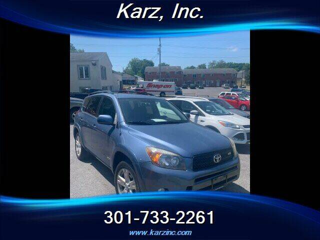 2007 Toyota RAV4 for sale at Karz INC in Funkstown MD