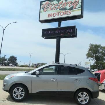 2011 Hyundai Tucson for sale at Victory Motors in Waterloo IA