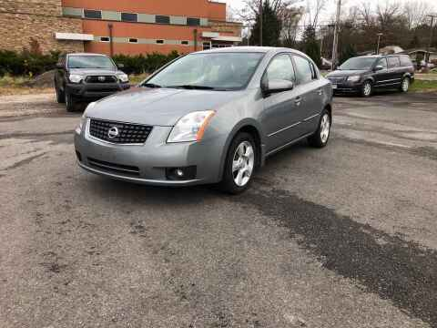 2007 Nissan Sentra for sale at DILLON LAKE MOTORS LLC in Zanesville OH
