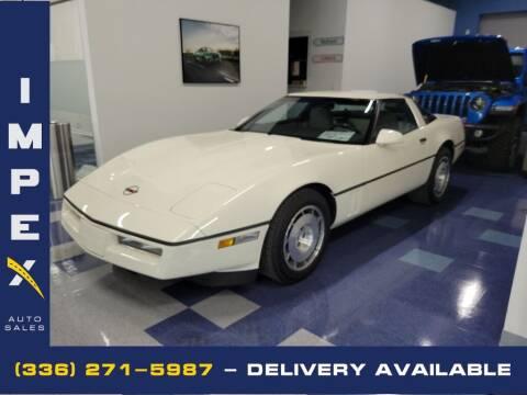 1986 Chevrolet Corvette for sale at Impex Auto Sales in Greensboro NC