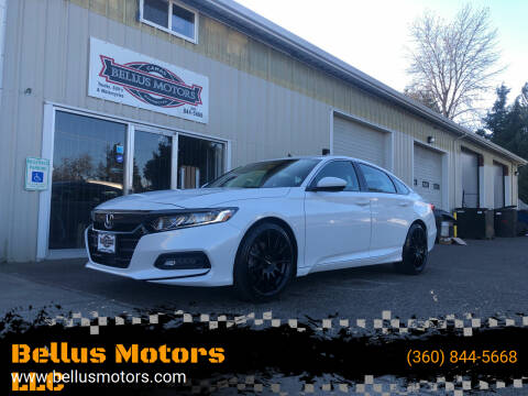 2018 Honda Accord for sale at Bellus Motors LLC in Camas WA