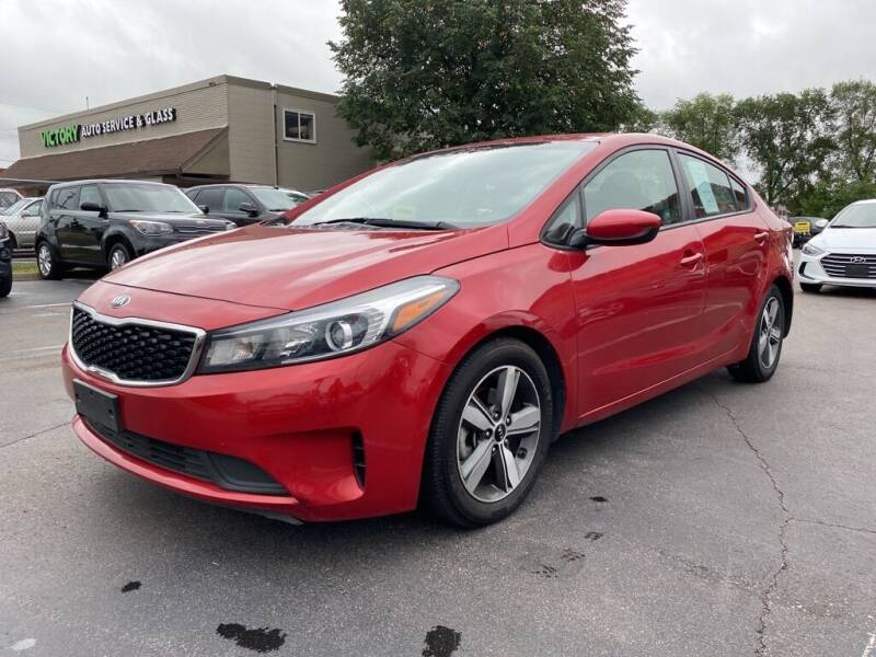 2018 Kia Forte for sale at MIDWEST CAR SEARCH in Fridley MN