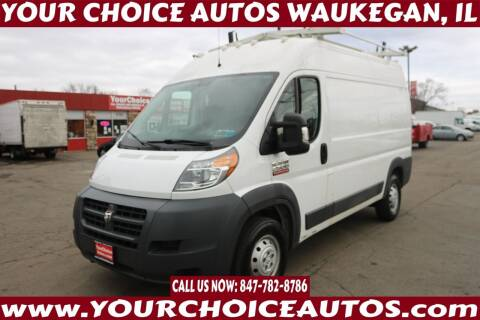 2016 RAM ProMaster Cargo for sale at Your Choice Autos - Waukegan in Waukegan IL