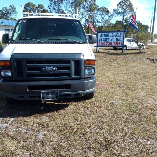 2008 Ford E-Series Cargo for sale at MOTOR VEHICLE MARKETING INC in Hollister FL