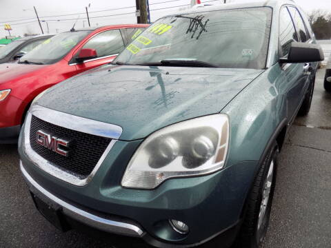 2009 GMC Acadia for sale at Pro-Motion Motor Co in Lincolnton NC