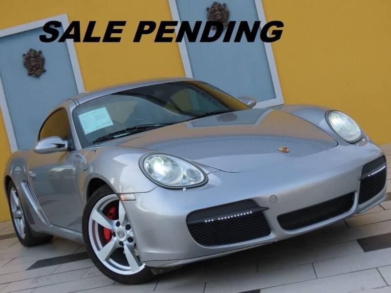 2008 Porsche Cayman for sale at Paradise Motor Sports LLC in Lexington KY