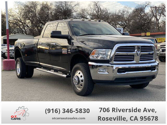 2015 RAM Ram Pickup 3500 for sale at OT CARS AUTO SALES in Roseville CA