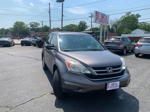 2010 Honda CR-V for sale at M & J Auto Sales in Attleboro MA