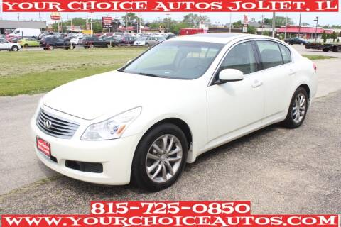 2007 Infiniti G35 for sale at Your Choice Autos - Joliet in Joliet IL