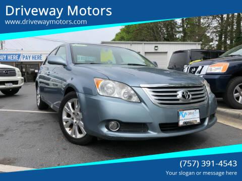 2010 Toyota Avalon for sale at Driveway Motors in Virginia Beach VA