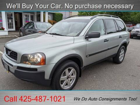 2004 Volvo XC90 for sale at Platinum Autos in Woodinville WA