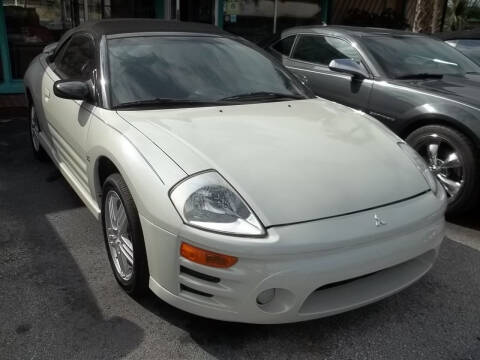 2003 Mitsubishi Eclipse Spyder for sale at PJ's Auto World Inc in Clearwater FL