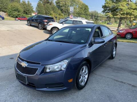 2013 Chevrolet Cruze for sale at InstaCar LLC in Independence MO