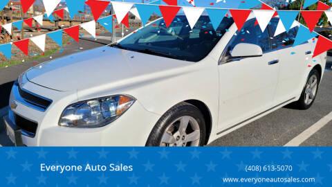 2012 Chevrolet Malibu for sale at Everyone Auto Sales in Santa Clara CA