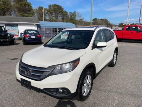 2012 Honda CR-V for sale at U FIRST AUTO SALES LLC in East Wareham MA