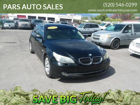 2008 BMW 5 Series for sale at PARS AUTO SALES in Tucson AZ
