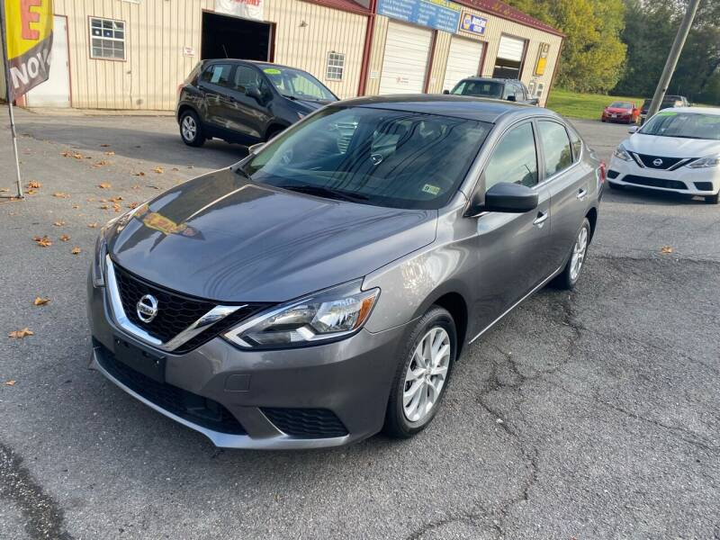 2019 Nissan Sentra for sale at THE AUTOMOTIVE CONNECTION in Atkins VA