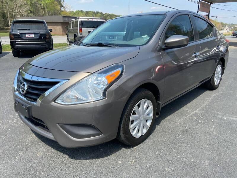 2015 Nissan Versa for sale at Luxury Auto Innovations in Flowery Branch GA