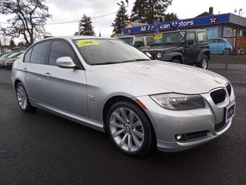 2011 BMW 3 Series for sale at All American Motors in Tacoma WA